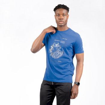 Dare 2b - Men's Stringent Graphic T-Shirt Olympian Blue