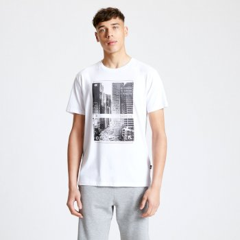 Dare 2b - Men's Token Graphic T-Shirt White