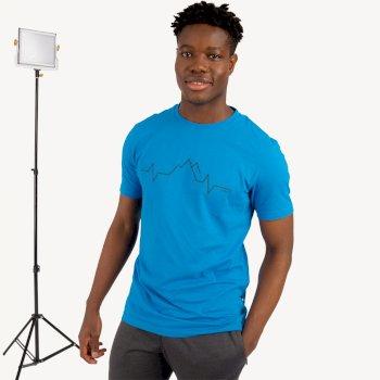 Męska koszulka Differentiate Dare2B niebieska