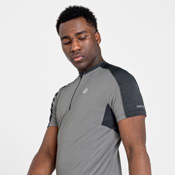 Męska koszulka rowerowa Aces II szara