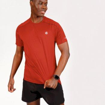 Męska koszulka Discernible Dare2B czerwona