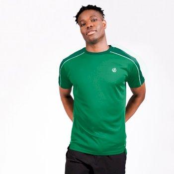 Męska koszulka Discernible Dare2B zielona