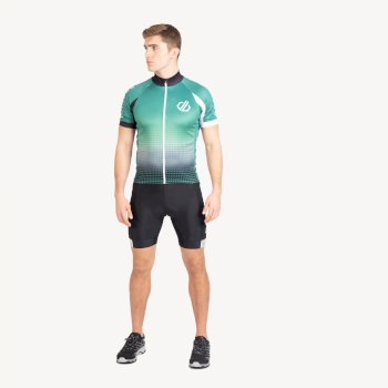 Męska koszulka z długim rękawem Virtuosity Dare2B zielona