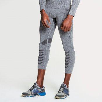 Men's Zonal III 3/4 Base Layer Pants Charcoal Grey