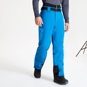 Męskie spodnie narciarskie Dare2B Absolute II niebieskie