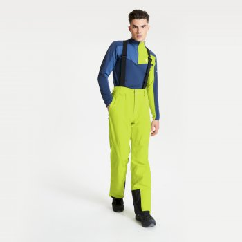 Dare 2b - Men's Achieve II Waterproof Ski Pants Lime Punch