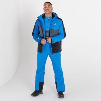 Męskie spodnie narciarskie Dare2B Achieve II niebieskie