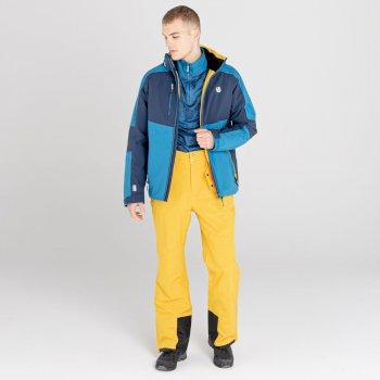 Męskie spodnie narciarskie Dare2B Achieve II żółte