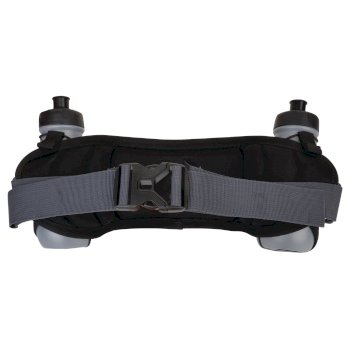 Vite II Double Belt Black Fluro Yellow