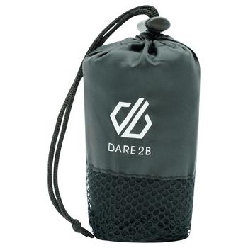 Dare 2b - Microfibre Anti-bacterial Towel  Black