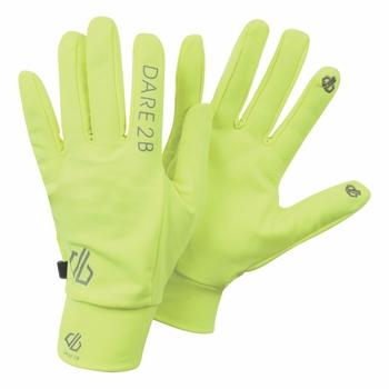 Rękawiczki Dare2B Cogent kanarkowe