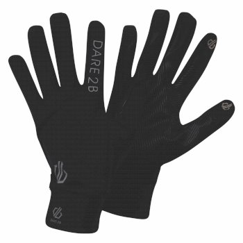 Dare 2b - Cogent Lightweight Knitted Stretch Gloves Black