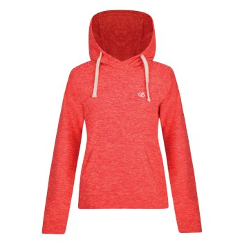 Dare 2b - Women's Omnitude Hooded Fleece Fiery Coral