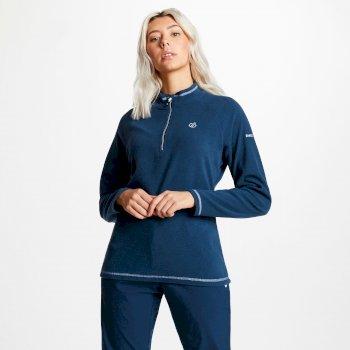 Women's Freeform Half Zip Lightweight Fleece Blue Wing