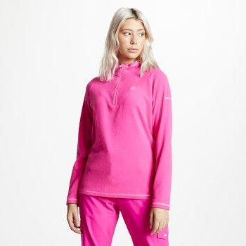 Women's Freeform Half Zip Lightweight Fleece Cyber Pink