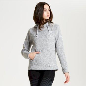 Women's Realise Hooded Fleece Ash Marl