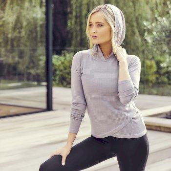 Dare 2b - Women's Result Overhead Hooded Sweater Argent Grey