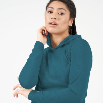 Dare 2b - Women's Result Overhead Hooded Sweater Dragonfly Green