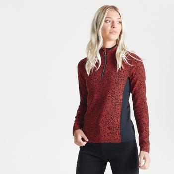 Damska bluza Dare2B Immortal zdobiona kryształkami Swarovski czerwona