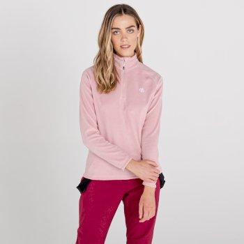 Dare 2b - Women's Freeform II Half Zip Fleece Powder Pink