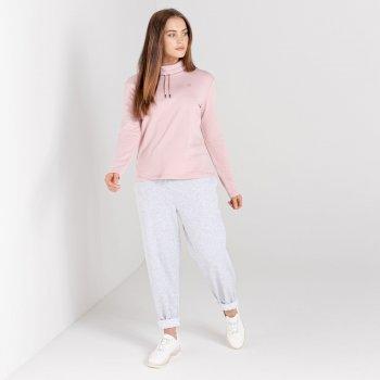 Damska bluza zdobiona kryształkami SwarovskiDare2B Swoop różowa