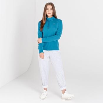 Damska bluza zdobiona kryształkami SwarovskiDare2B Swoop niebieska