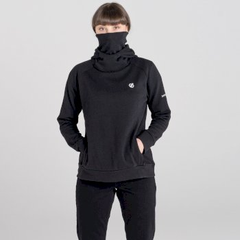 Dare 2b - Women's Safe Side Hooded Fleece Black
