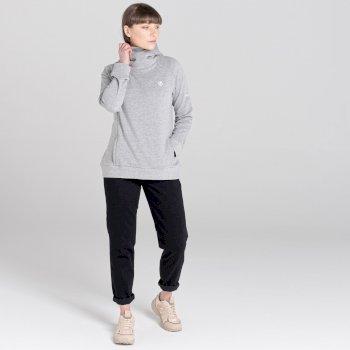 Dare 2b - Women's Safe Side Hooded Fleece Ash Grey Marl
