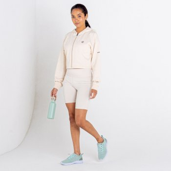 Dare 2b - Women's Lounge About Cropped Hoodie Barley White Marl