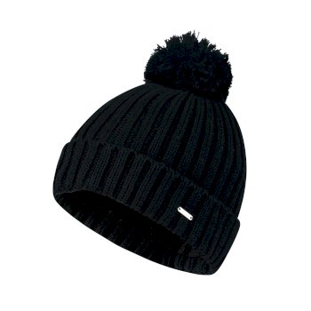 Women s Mercy Bobble Beanie Hat Black 031d009cb5b3