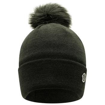 Damska czapka beanie zdobiona kryształkami SwarovskiDare2B Bejewel czarna