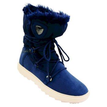Women's Karellis Luxe Ski Boots Blue Wing