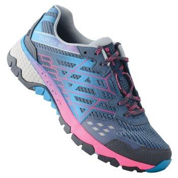 Women's Razor II Lightweight Trail Shoes Meteor Grey Cyber Pink