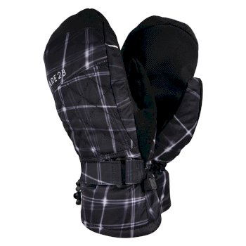 Dare 2b - Women's Dignity Waterproof Ski Mitts Black Flow Print