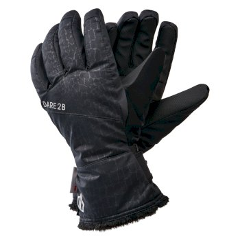 Dare 2b - Women's Iceberg Waterproof Insulated Ski Gloves Black Croc