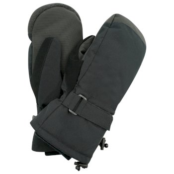 Damskie rękawiczki zdobione kryształkami SwarovskiDare2B Bejewel Ski czarne