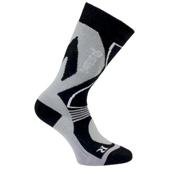Women's Construct Tech Ski Socks Black