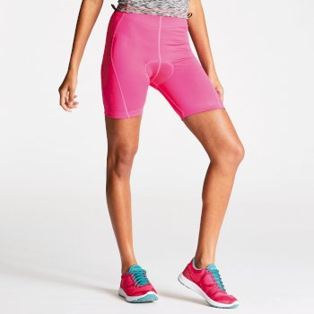 Women's Turnaround Cycle Shorts Cyber Pink