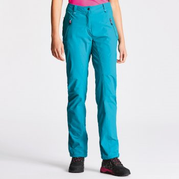 Women's Melodic Stretch Trousers Shoreline Blue