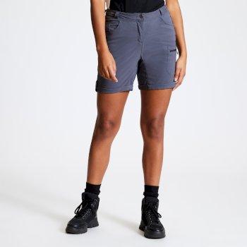 Dare 2b - Women's Melodic II Multi Pocket Walking Shorts Ebony Grey