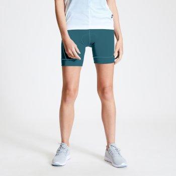 Dare 2b - Women's Habit Foam Insert Cycling Shorts Dragonfly Green