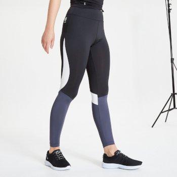Dare 2b - Women's Influential Leggings Black Dark Storm Grey