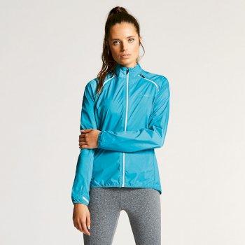 Women's Unveil II Windshell Jacket Sea Breeze Blue