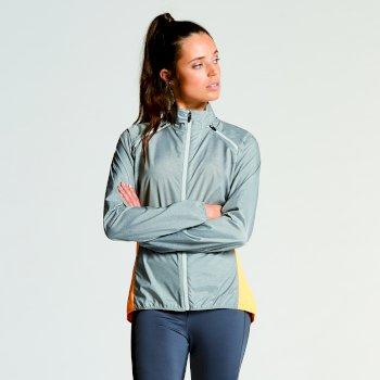 Women's Unveil II Windshell Jacket Mid Grey