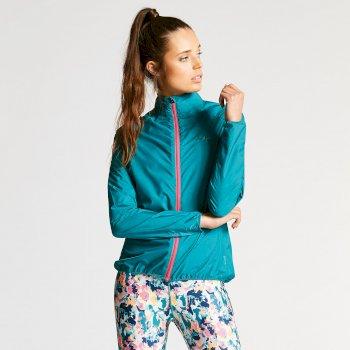 Women's Blighted II Windshell Jacket Shoreline Blue
