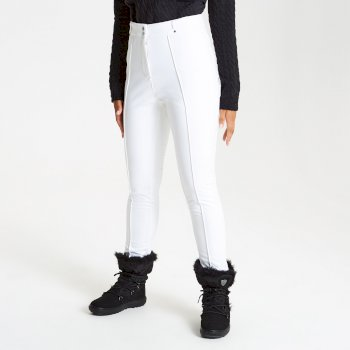 Dare 2b - Women's Slender Tapered Fit Luxe Ski Pants White