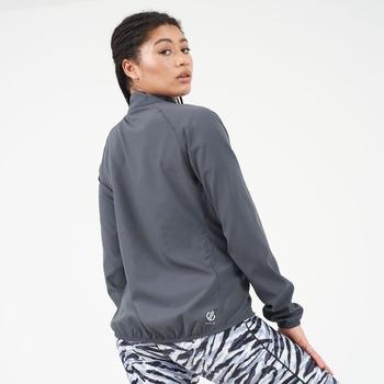 The Laura Whitmore Edit - Resilient Lightweight Windshell Jacket Ebony Grey