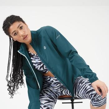 Dare 2b - Women's Resilient Lightweight Windshell Jacket Dragonfly Green