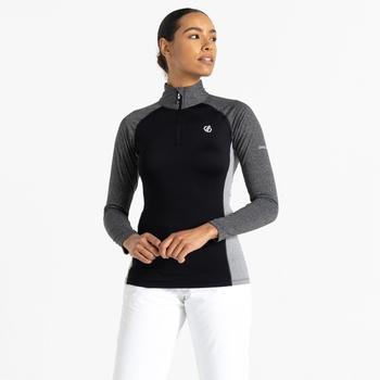 Damska bluza narciarska Dare2B Involved II czarna
