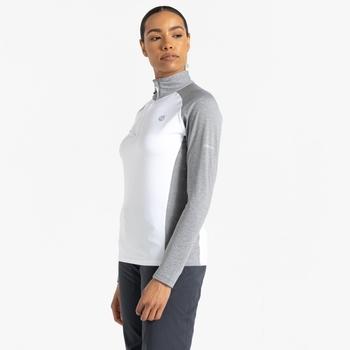 Damska bluza narciarska Dare2B Involved II biała